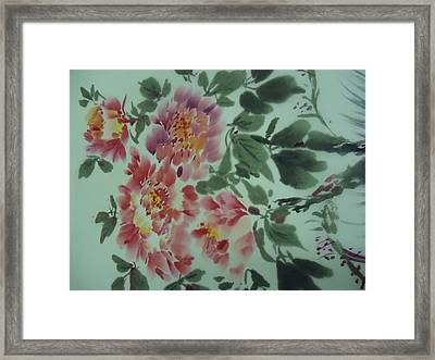 Flower 0725-2 Framed Print