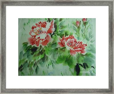 Flower0728-5 Framed Print
