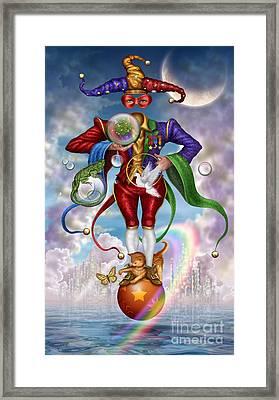 Fool Of Dreams Framed Print by Ciro Marchetti