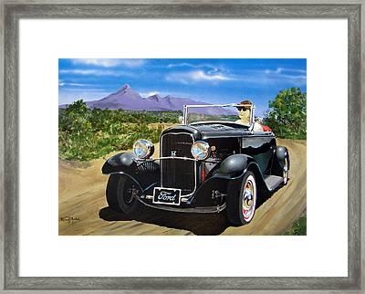 Ford Roadster Highboy Framed Print