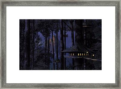 Forest Framed Print by Raphael  Sanzio