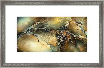 ' Fractured ' Framed Print by Michael Lang