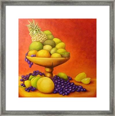 Fruitpassion Framed Print by Lisa Carlen