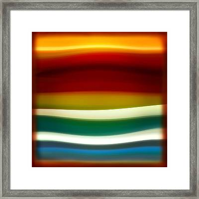 Fury Sea 3 Framed Print by Amy Vangsgard