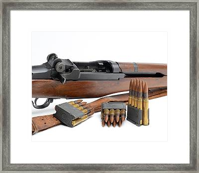 Garand  Framed Print by John Bell