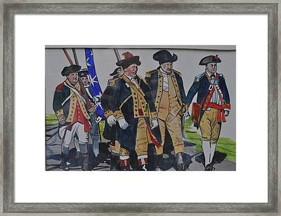 Gathered At The River Framed Print