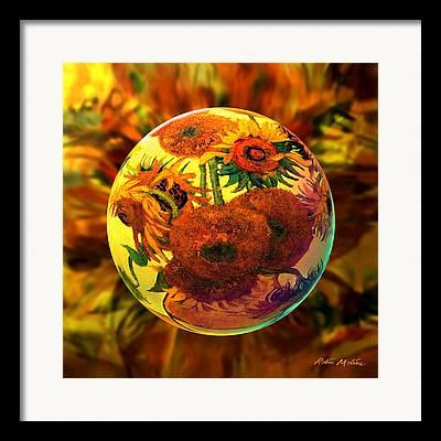 Van Gogh Style Framed Prints
