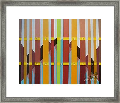 Go Green Framed Print