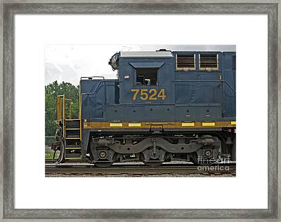 Good Old 7524 Framed Print by Skip Willits