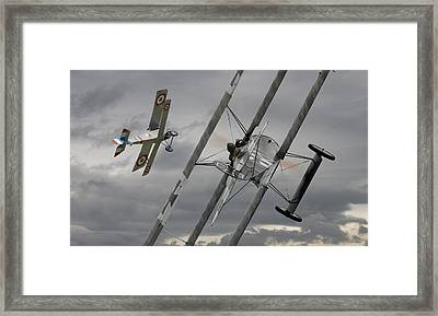 Gotcha Framed Print by Pat Speirs