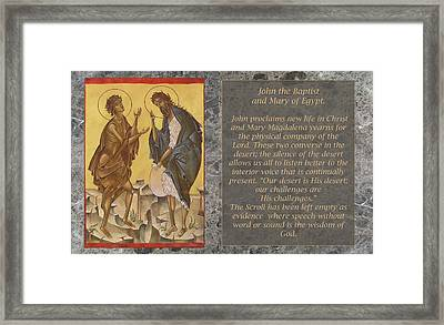 Greeting Cards Mystic Minute Framed Print