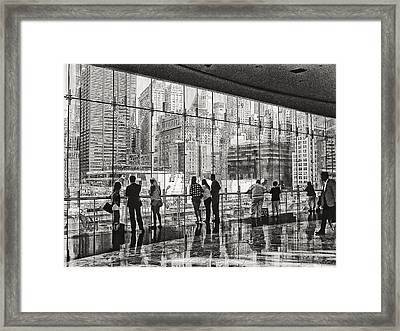 Ground Zero Framed Print by Wayne Gill