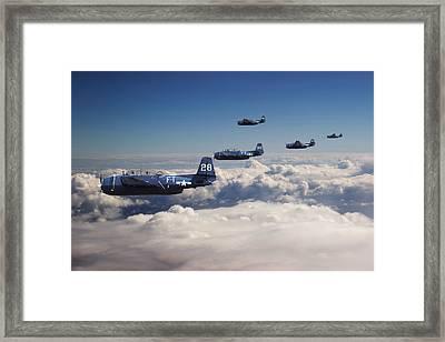 Grumman  Avenger - Lost.... Framed Print by Pat Speirs