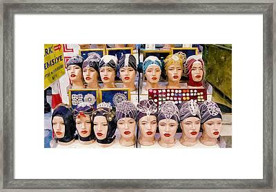 Hair Accessories  Framed Print