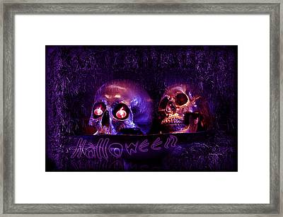 Halloween Party  Framed Print by Xueling Zou