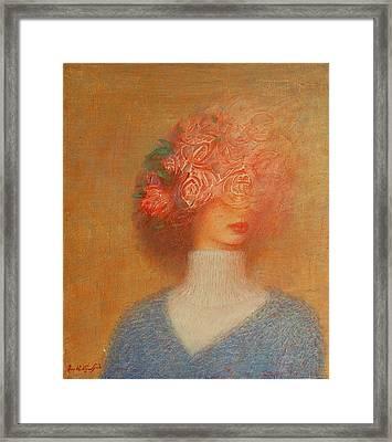 Hapiness Framed Print by Karen Aghamyan