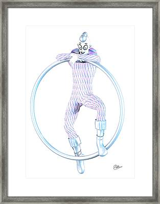 The Young Harlequin  Framed Print by Quim Abella