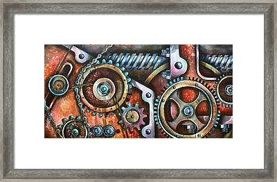 ' Harmony 8' Framed Print by Michael Lang
