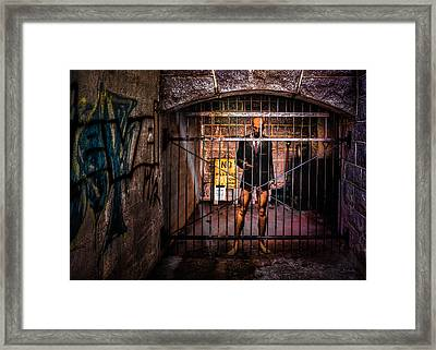 He Believes It Is A Dream Framed Print by Bob Orsillo