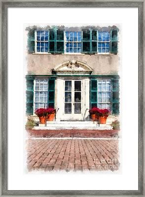 Hildene Manchester Vermont Framed Print by Edward Fielding