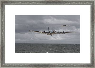Home The Hard Way Framed Print by Pat Speirs