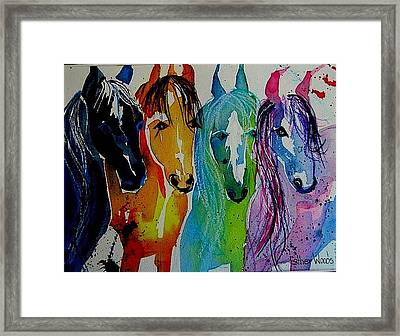 Horse Heaven Framed Print