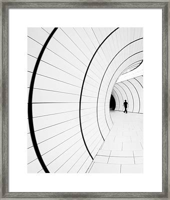 ((( I) Framed Print
