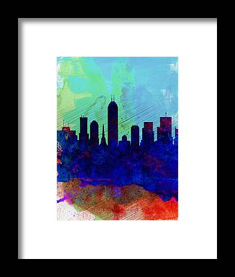 Indianapolis Framed Prints
