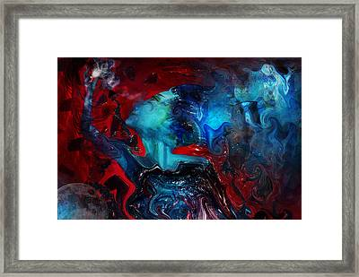 In The Beginning There Was Light Framed Print by Patricia Motley