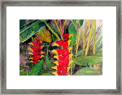In The Middle Of The Brushwoods Framed Print