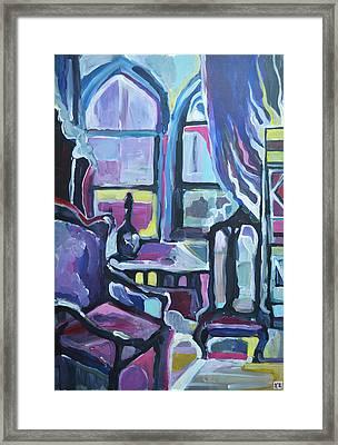 Interior Framed Print by Julia Pankova