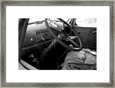 Interiors Past Framed Print by Randy Pollard