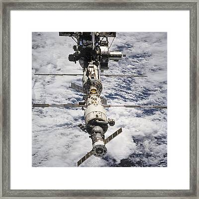 International Space Station Framed Print by Anonymous