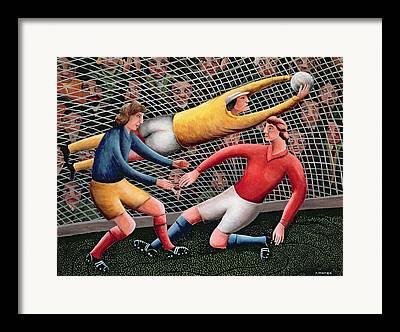 Soccer Kit Framed Prints
