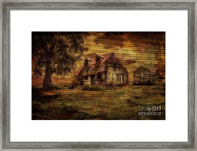 Just Biding Time Framed Print by Lois Bryan