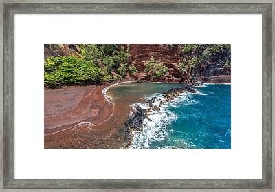 Kaihalulu Bay Framed Print