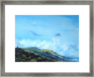 Kettleness Yorkshire  Framed Print