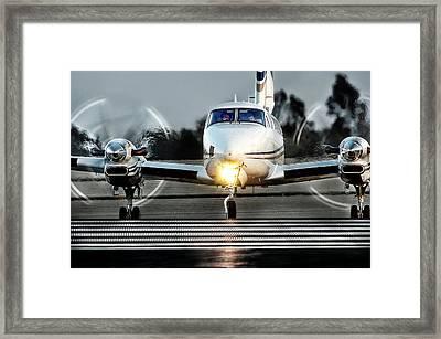 King Air  Framed Print by James David Phenicie