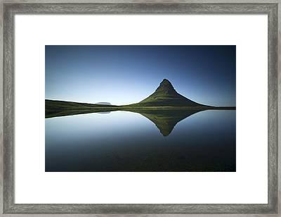 ... Kirkjufell Framed Print