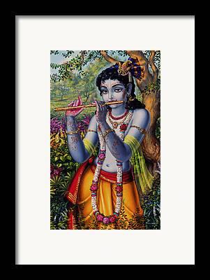 Krishna Framed Prints