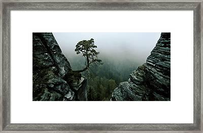 /\\-l /\\ Framed Print