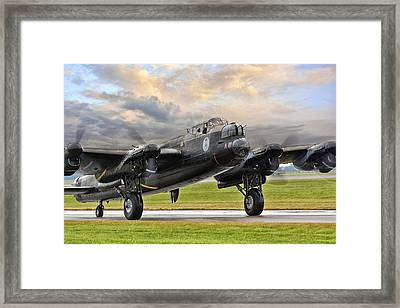 Lancaster Vera From Canada Framed Print by Jason Green