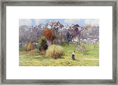 Landscape Framed Print by Dario Bardinero