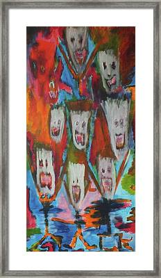 Laughter Framed Print by Randall Ciotti