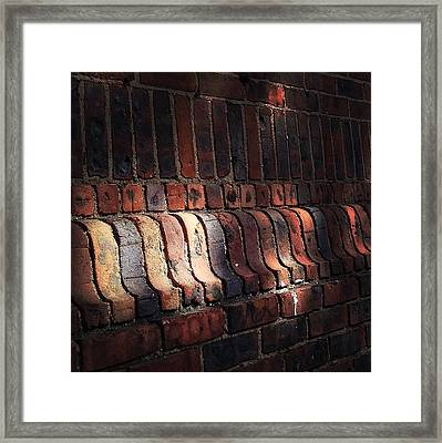Light Shadow Texture Framed Print by Natasha Marco