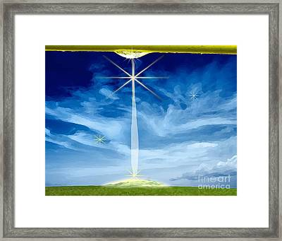 Little Drop Of Glory Framed Print