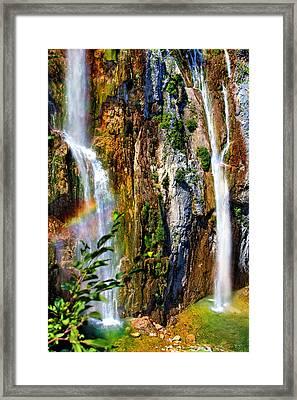 Little Rainbow Framed Print