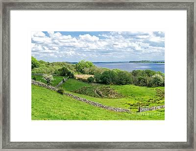 Loch Coirib Framed Print by Juergen Klust