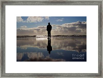Lost In Thought Framed Print by Deanna Proffitt