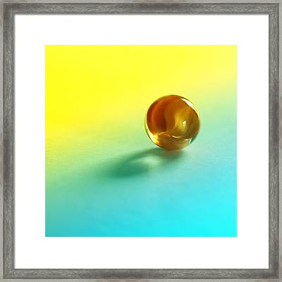 Lost Marble Framed Print